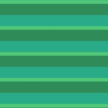 Greens Sea Emerald Jungle by Delight4Delife