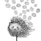 Hedgehog Flower by miarsmoller