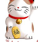 Maneki Neko Lucky Charm by Anna R. Carrino
