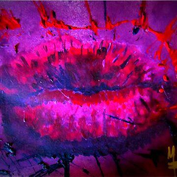 Pink Kiss - Hot Kiss von mwart