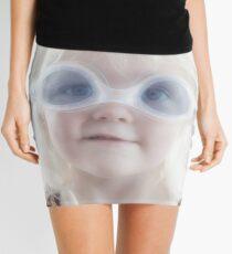 I can swim like this... Mini Skirt