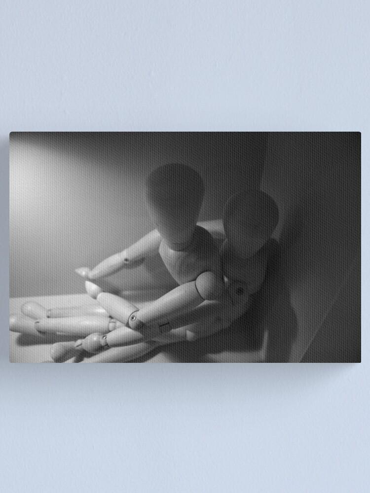 Alternate view of In a dark Corner Canvas Print
