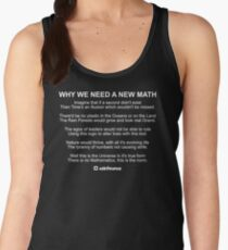 Why We Need A New Math Women's Tank Top