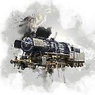 « Locomotive V2 » par Chrystelle Hubert