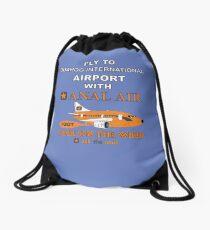 Fly to Quahog International Airport wth Anal Air Drawstring Bag