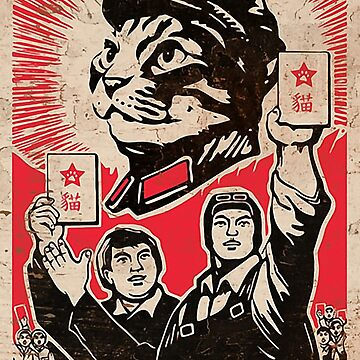 Chairman Meow - Kittens of the world unite.  by poland-ball
