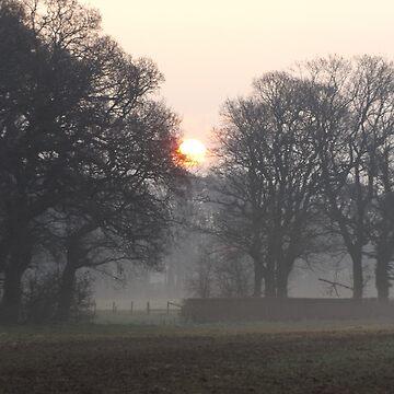 Lancashire sunrise by derbyshireduck