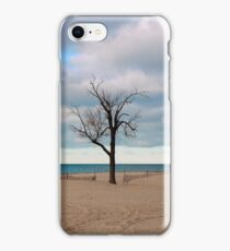 A tree by the lake. iPhone Case/Skin