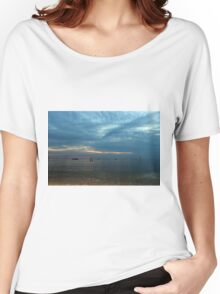Lake in the evening. Women's Relaxed Fit T-Shirt