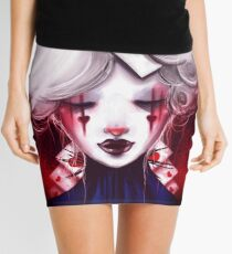 Queen of Hearts Mini Skirt