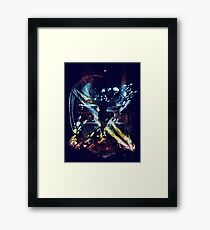dancing with elements Framed Print