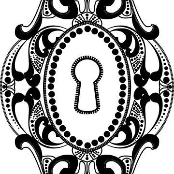 Victorian Lock Design by uredian
