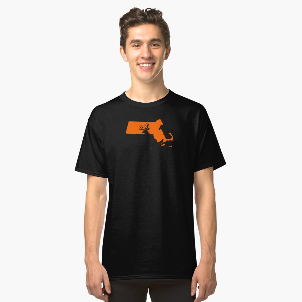 MASSACHUSETTSDEER Classic T-Shirt Front