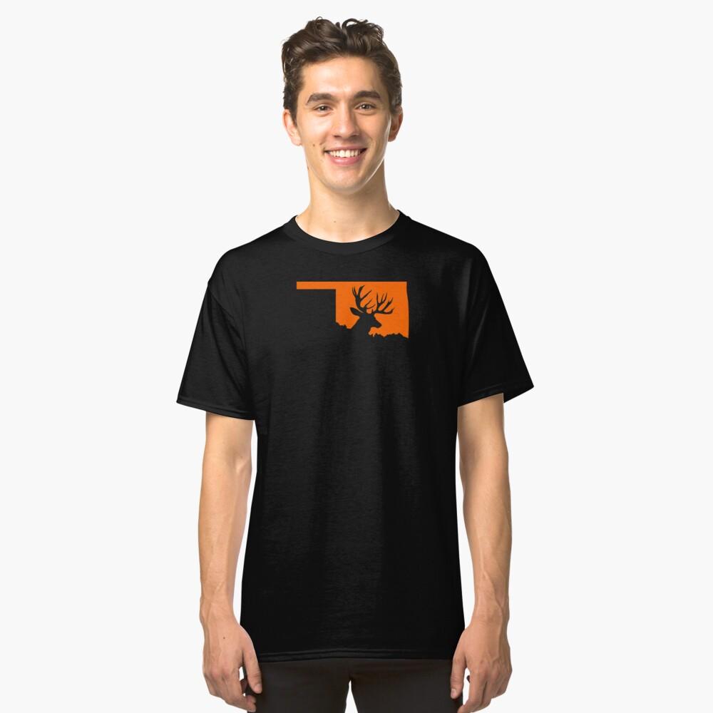 OKLAHOMA DEER Classic T-Shirt Front