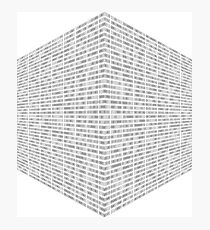 Cubed Photographic Print