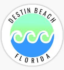 Destin beach Florida Sticker