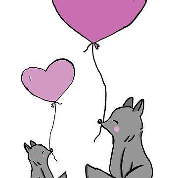 Love wolfs by F0rt3ck