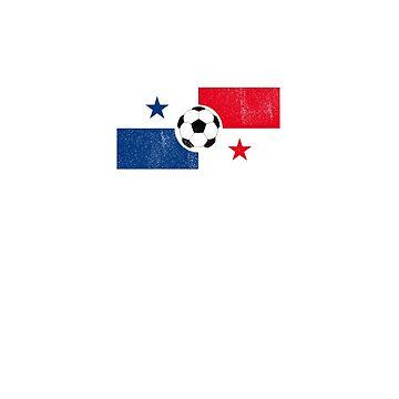 Panama, Soccer, Rusia 2018 tshirt - Camiseta Futbol Tee by T-Heroes