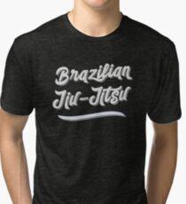 BJJ Men Women Brazilian Jiu-Jitsu MMA Grappling Tri-blend T-Shirt