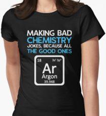 Periodic table jokes t shirts redbubble bad chemistry jokes good ones argon womens fitted t shirt urtaz Choice Image