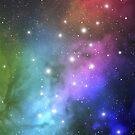 Blue Nebula by Veronika Bychkova