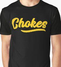 Chokes BJJ Brazilian Jiu-Jitsu MMA Grappling Graphic T-Shirt