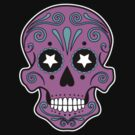 Sugar skull 1 by Scott White