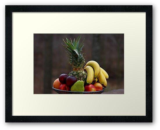A basket of fruits by ikshvaku