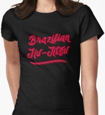 BJJ Brazilian Jiu-Jitsu MMA Grappling Women's Fitted T-Shirt