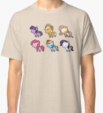 MLP Mane6 chibi Classic T-Shirt