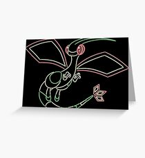 Minimalist Mystic Pokemon Greeting Card