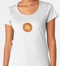 Classic Basketball Mom Gift Mom with Basketball Women's Premium T-Shirt