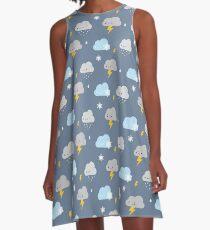 Kawaii Stormy Weather A-Line Dress