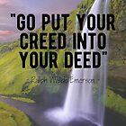 Motivational - Ralph Waldo Emerson  by MotivationFlow