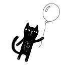 Flying Cat by Ekaterina Zimodro