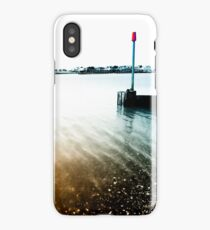 Rippling Tide at the Mouth of Shoreham Harbour iPhone Case