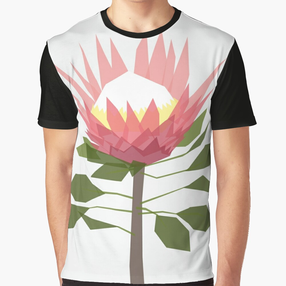 King Protea Graphic T-Shirt