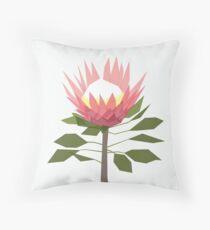 King Protea Throw Pillow