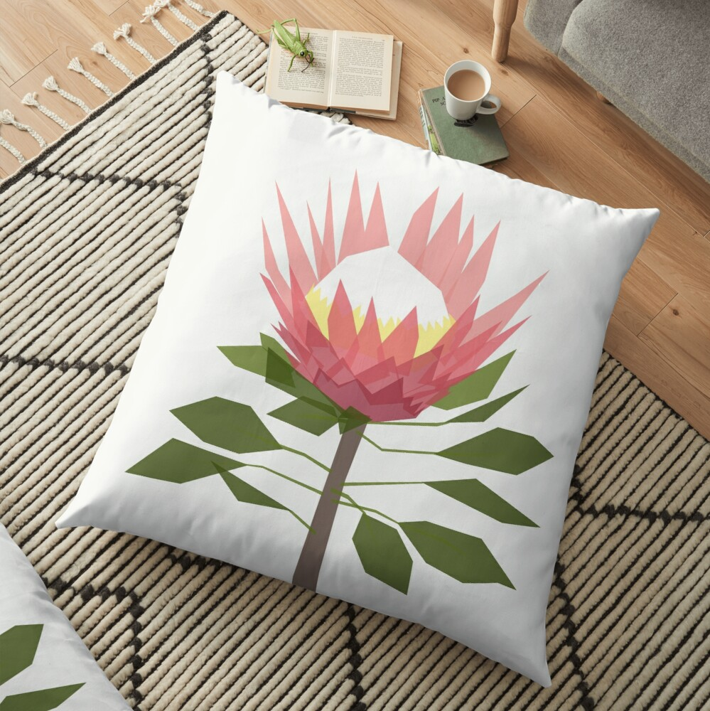 King Protea Floor Pillow