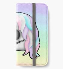 My Little Dead Unicorn | Unicorn Skull | Pastel Rainbow iPhone Wallet/Case/Skin