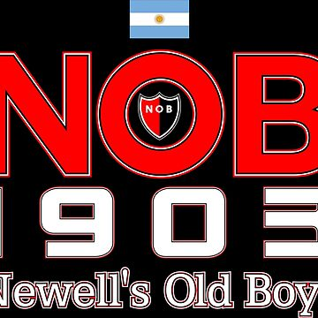 Newell's Old Boys Rosario Argentina Tee Shirts by Tropicalis
