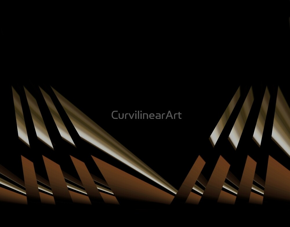 Curvilinear Project No. 34 ( Avoid ) by CurvilinearArt