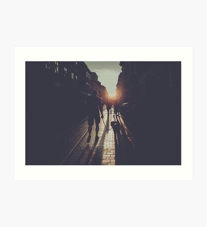 City light photography #city #photo Art Print