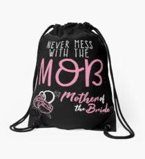 Mother of the Bride Drawstring Bag