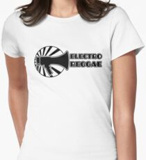 Electro Reggae Logo Women's Fitted T-Shirt