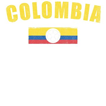 Colombia, Columbia- Camino a Rusia 2018, Russia World Cup Colombia Shirt. Vintage style soft fade text, supporter and fans shirt.  by T-Heroes