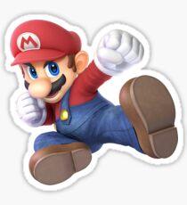 Smash Bros Ultimate - Mario Sticker