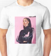 Jorja Smith Pink Unisex T-Shirt