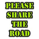 Please Share The Road by cmmei