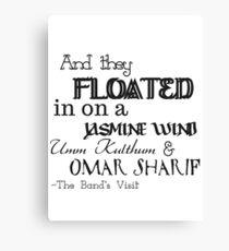 Omar Sharif - The Band's Visit Canvas Print